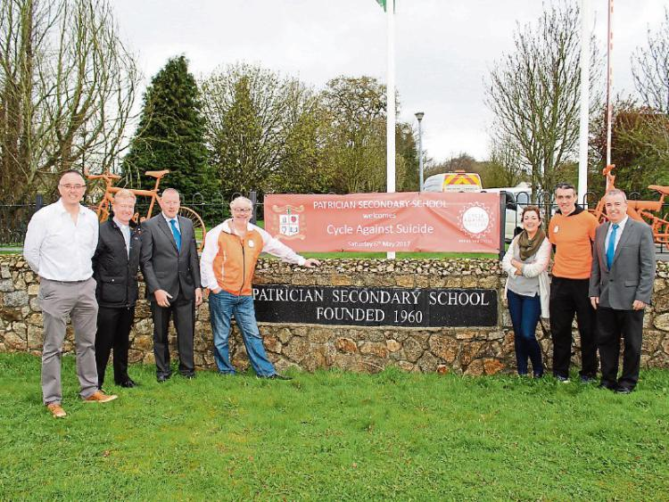 GN4 DAT 8156920.jpg newbridge school chosen to host cycle against suicide